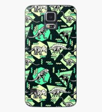 Neon Skeleton Dinosaur Pattern Case/Skin for Samsung Galaxy