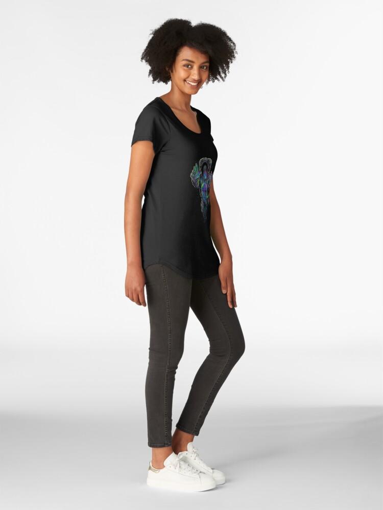 Alternative Ansicht von Jellyspace 2 Premium Rundhals-Shirt