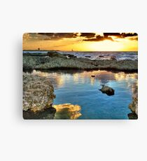 Water On Fire Canvas Print
