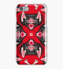 Bat Head Pattern iPhone Case/Skin