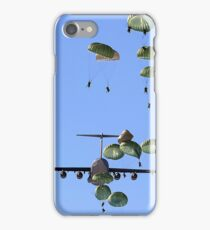Military Parachutes iPhone Case/Skin
