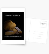 Our Gift to God Postcards