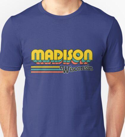 Madison, WI   City Stripes T-Shirt