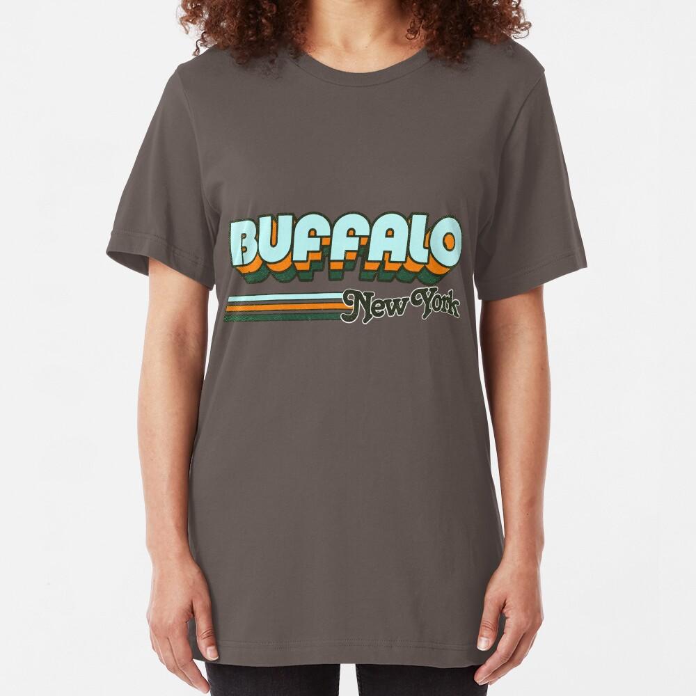Buffalo, NY | City Stripes Slim Fit T-Shirt