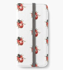 Lady Bug iPhone Wallet