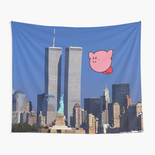 Kirby Did 9/11 Tapestry