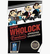 Super Wholock - Cartridge Poster