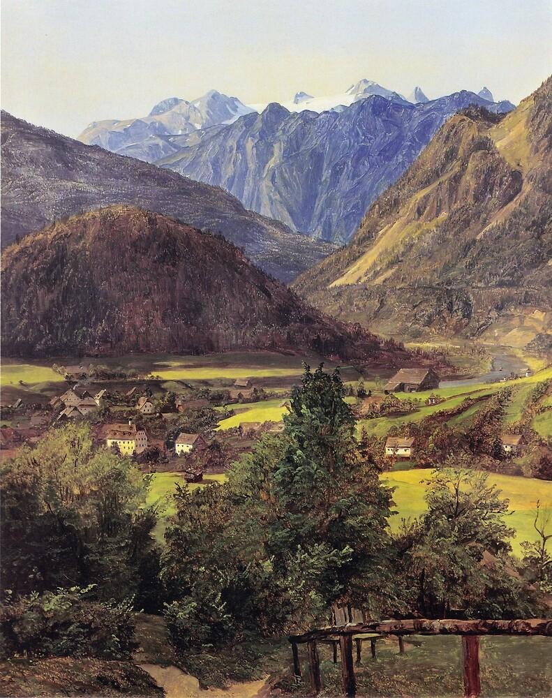 Ferdinand Georg Waldmüller The Dachstein by pdgraphics