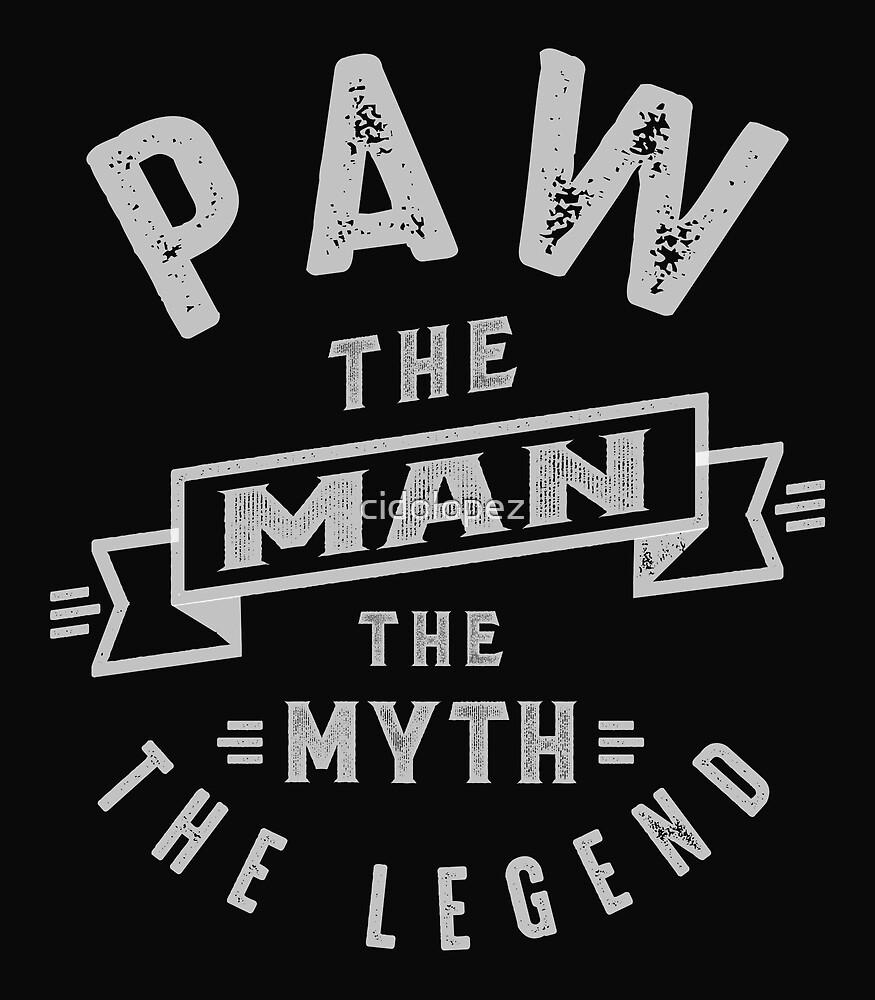 Paw Man Myth Legend by cidolopez