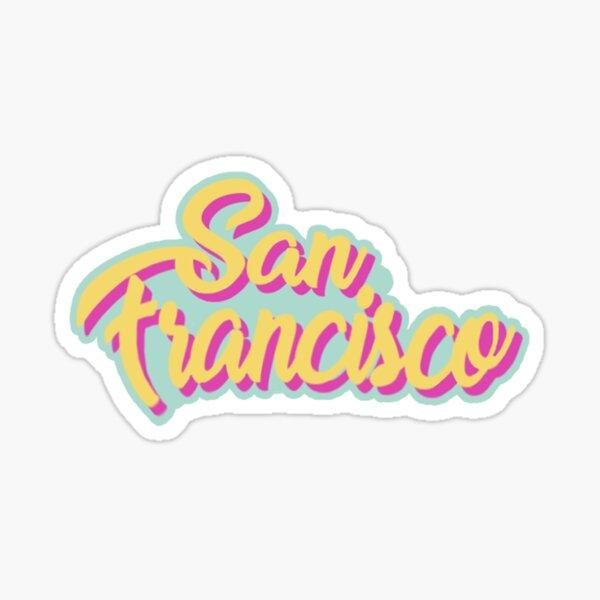 san francisco Sticker