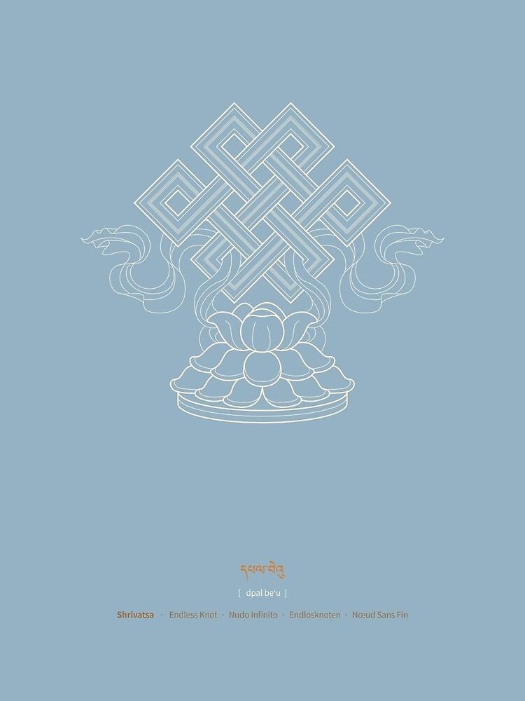 Shrivatsa – Endless Knot by Thoth-Adan