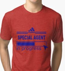 SPECIAL AGENT Tri-blend T-Shirt