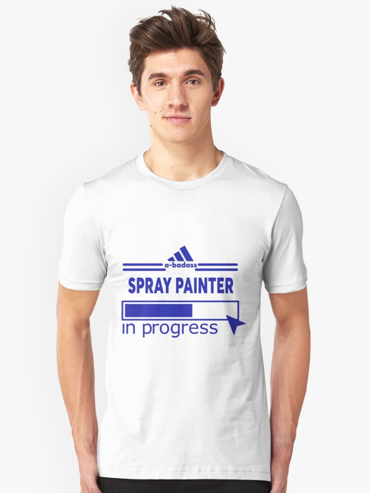 SPRAY PAINTER Unisex T-Shirt Front