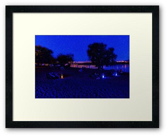 Evening beach on Bereznyaki by SvS Art Photo