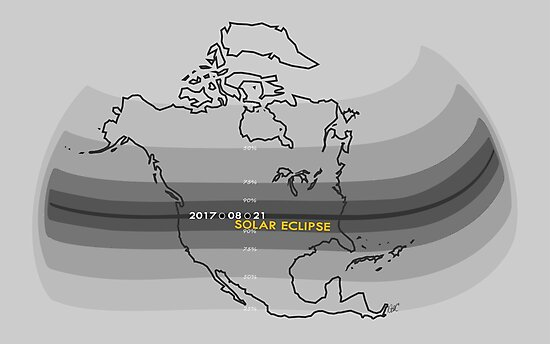 2017 North America Solar Eclipse by Natalie Metzger
