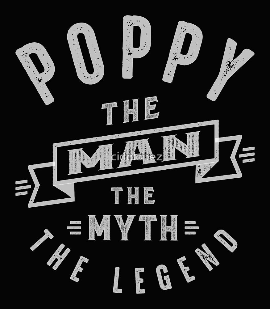 Poppy Man Myth Legend by cidolopez