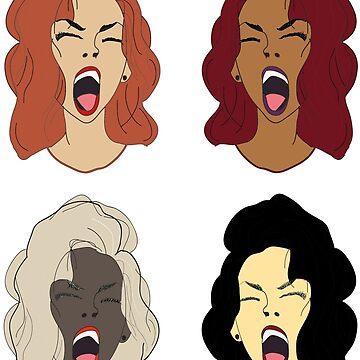 Girls, girls, girls by ryangitonga