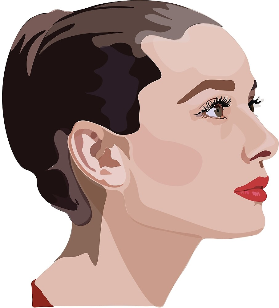 Audrey in Red by Landon-Hodges