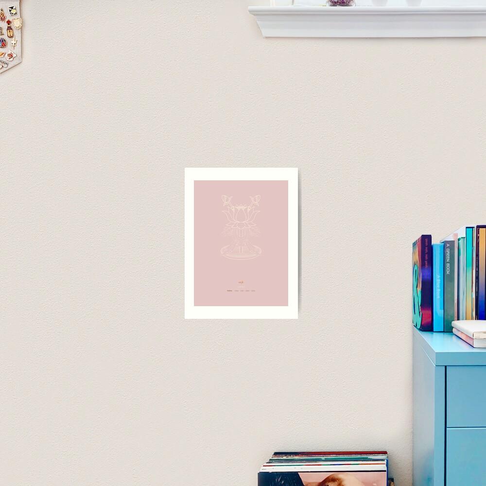 Padma – Lotus Art Print