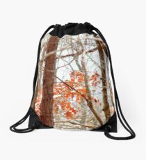 Wooded Drawstring Bag