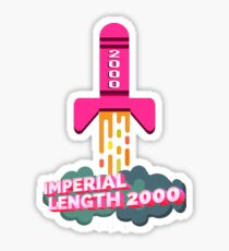 Imperial Length 2000 Sticker