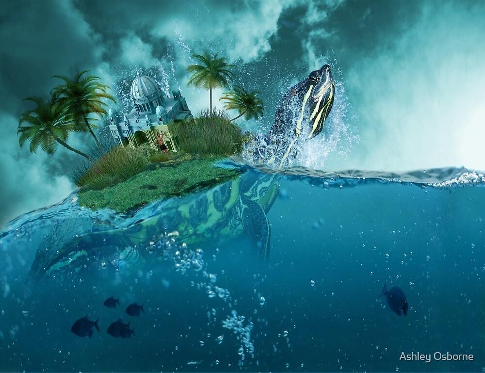 Coconut island by Ashley Osborne
