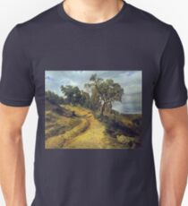 Ferdinand Georg Waldmüller The ruin Lichtenstein at Mödling T-Shirt