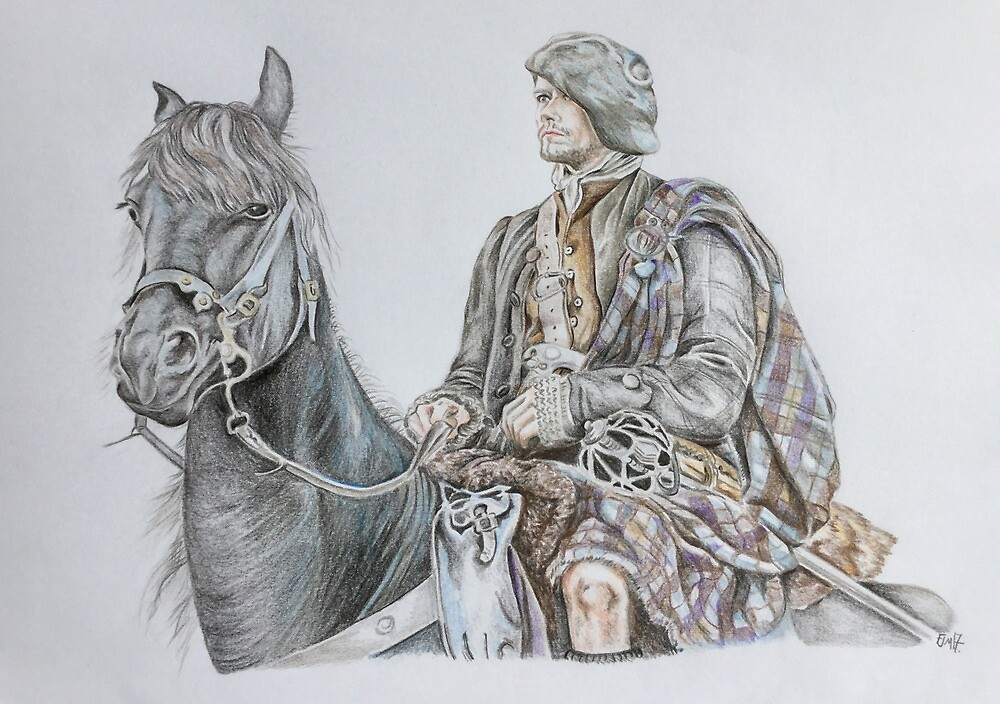 The Magnificent Jamie Fraser by BusyFeeArt