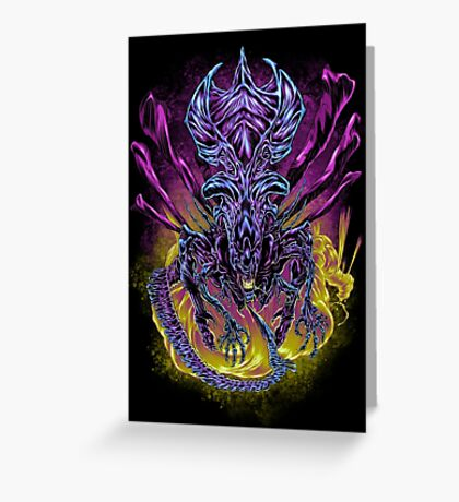 LONG LIVE THE QUEEN (color) Greeting Card
