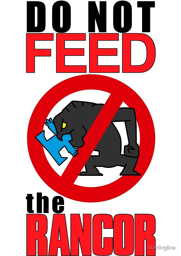 feed the rancor by starlingline