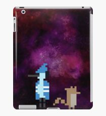 Mordecai and Rigby pixel art iPad Case/Skin