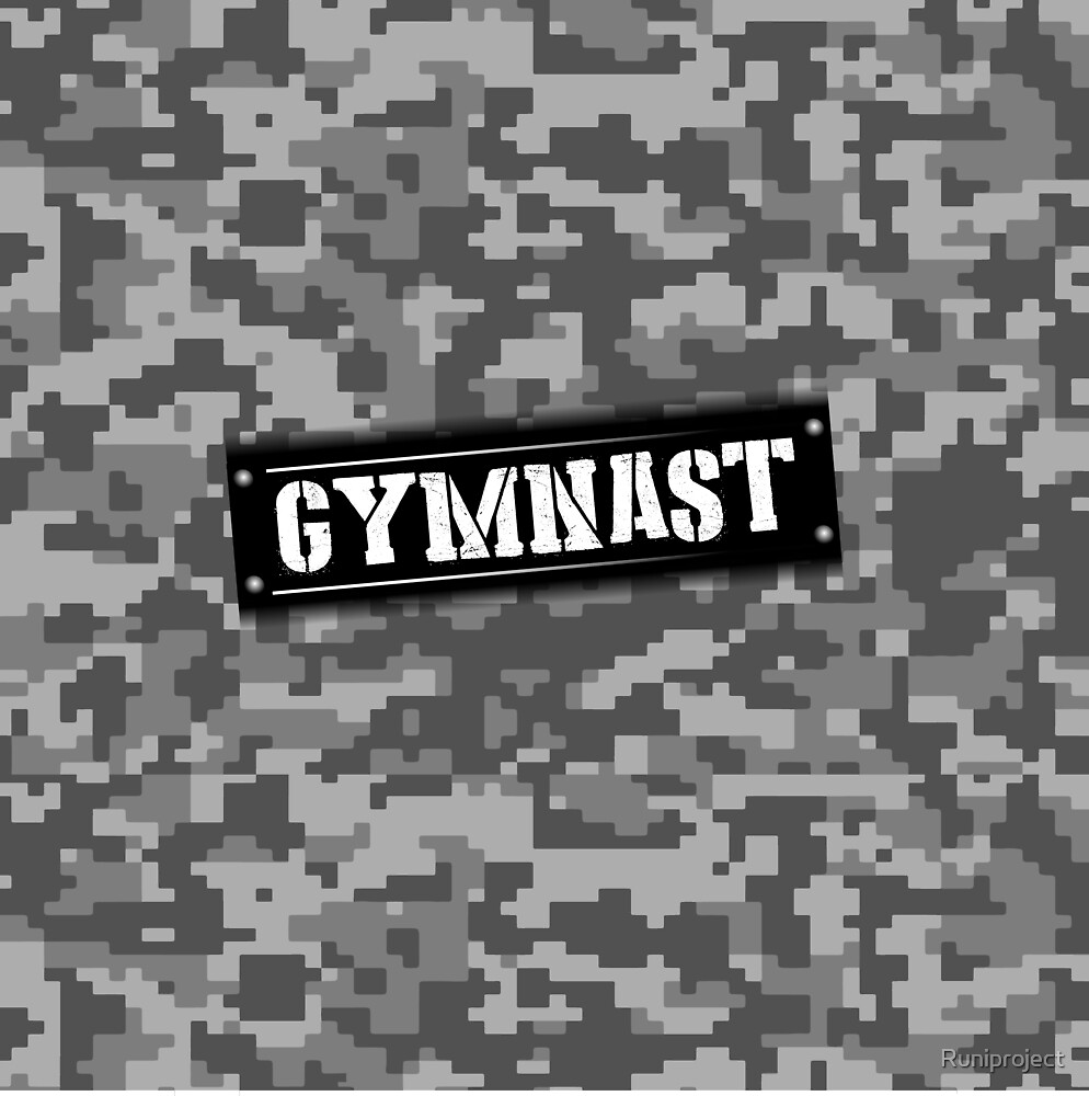 Gymnast Camo by Runiproject