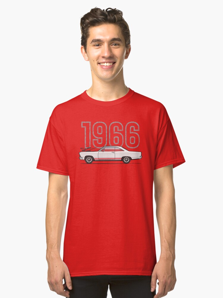 White 66 Classic T-Shirt Front