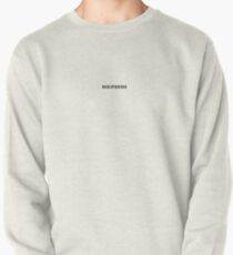 Back Up Boo Boo Pullover