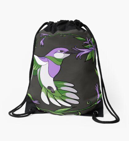 Pride Birds - Genderqueer Drawstring Bag