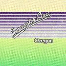 Smuggler Cove, Oregon | Surf Stripes by retroready