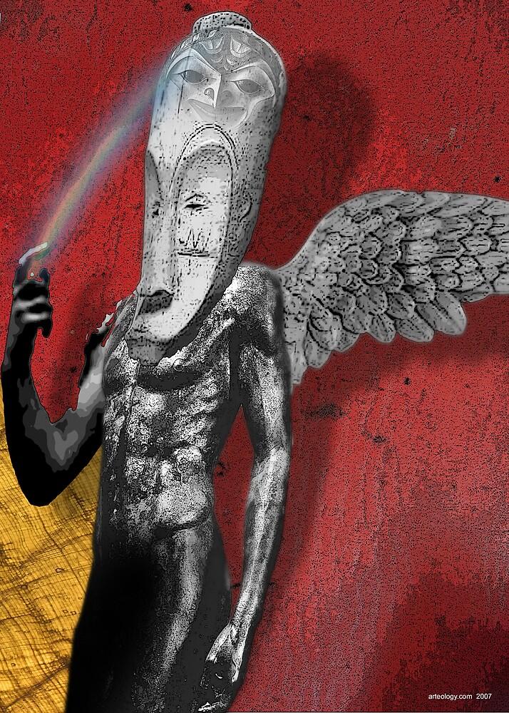 Rainbow Warrior by arteology