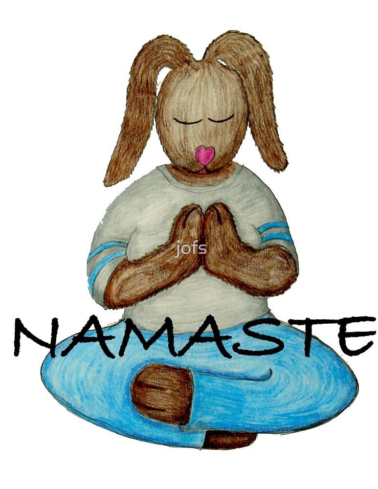 Namaste Bunny by jofs