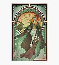 Midna - Art Nouveau Photographic Print