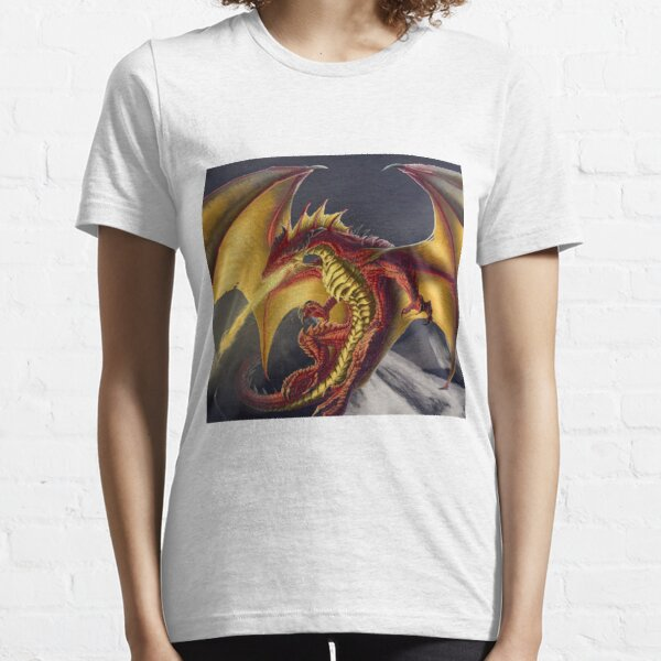 Red Gold Dragon Essential T-Shirt
