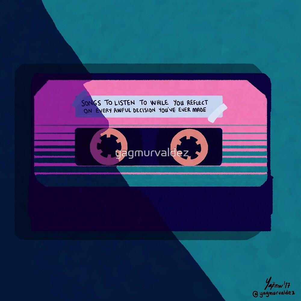 Retro Tape design by yagmurvaldez