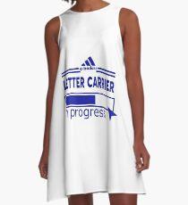 LETTER CARRIER A-Line Dress