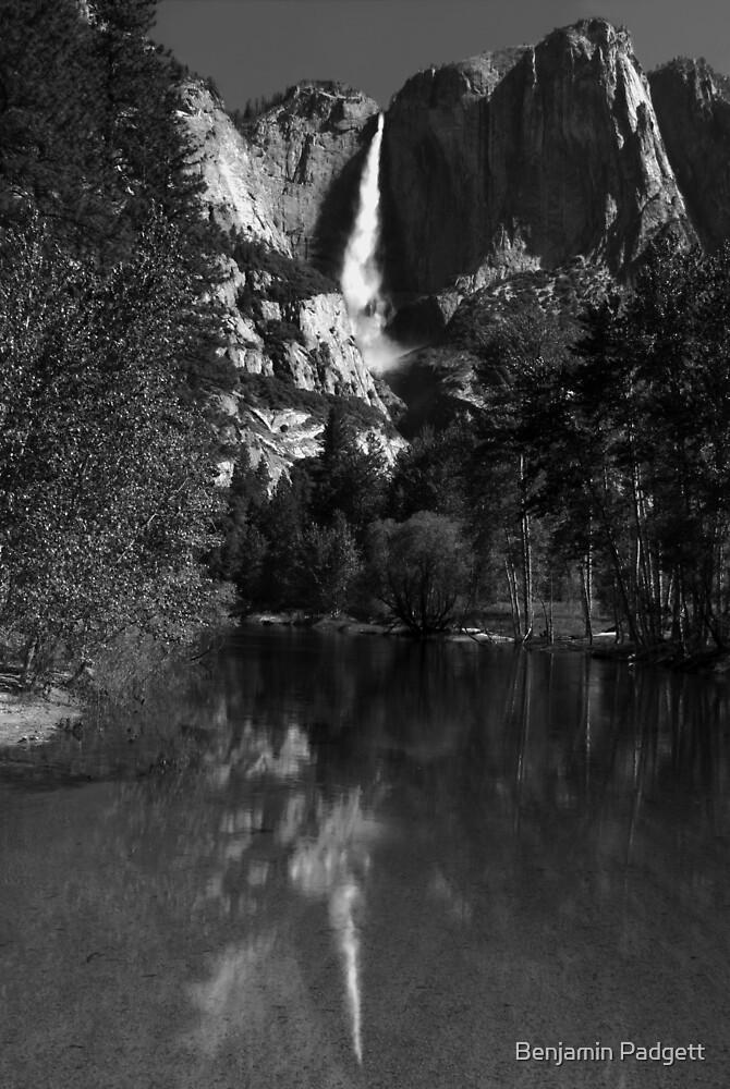 Yosemite Fall Reflection by Benjamin Padgett