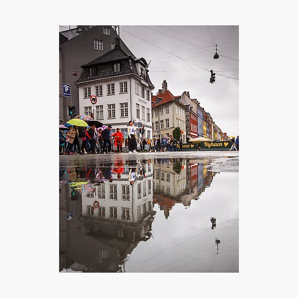 Rainy day reflections Photographic Print