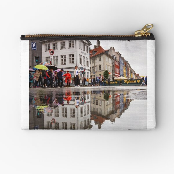 Rainy day reflections Zipper Pouch