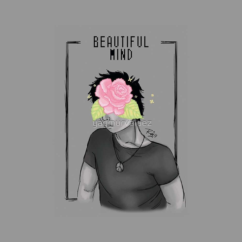 Beautiful Mind - pixel design by yagmurvaldez