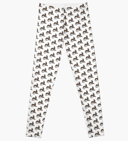 Greyhound - Dark Brindle Leggings