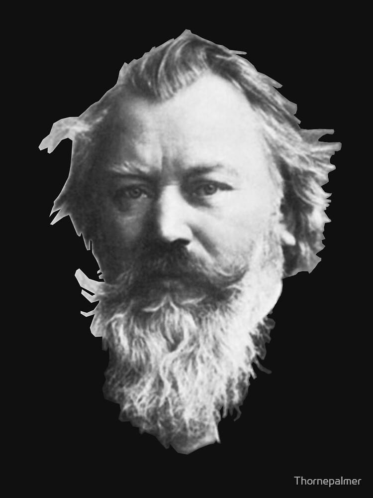 Johannes Brahms, great German composer by Thornepalmer