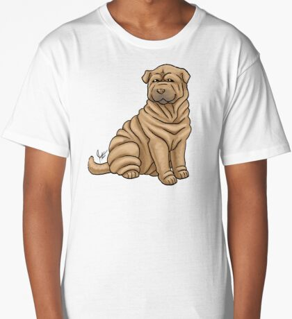 Chinese Shar Pei Long T-Shirt