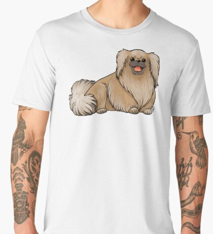 Pekingese Men's Premium T-Shirt